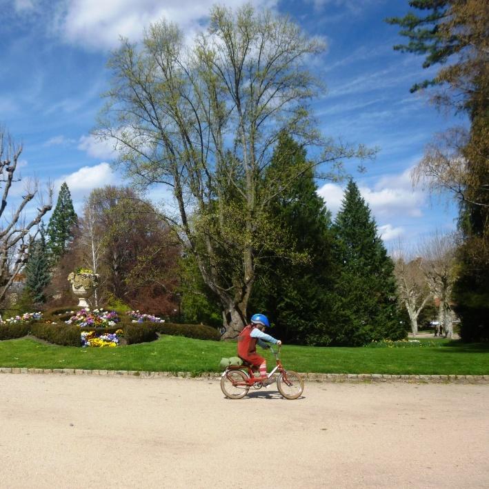 La manivelle buissonni re le puy en motob cane rouge for Jardin henri vinay