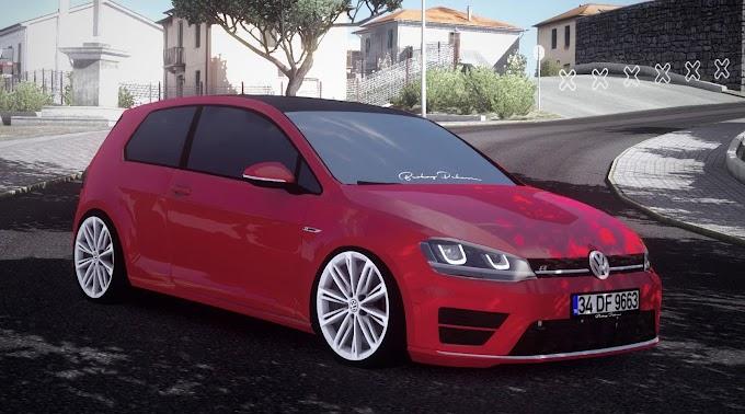 ETS 2 - Volkswagen Golf 7 R Line V2 Modu (1.38)