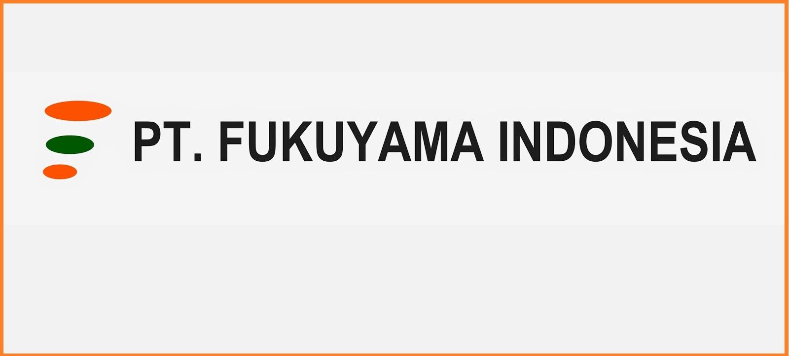 Lowongan Kerja PT. Fukuyama Giken Indonesia Terbaru