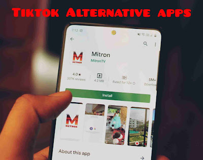 Tiktok alternative apps