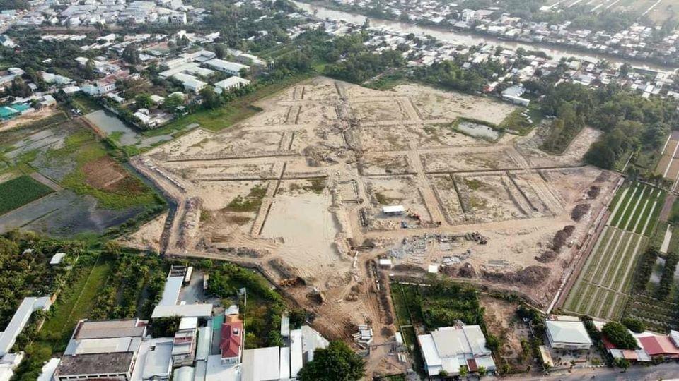 Hình ảnh thực tế dự án TNR Stars Chợ Mới tháng 3/2021