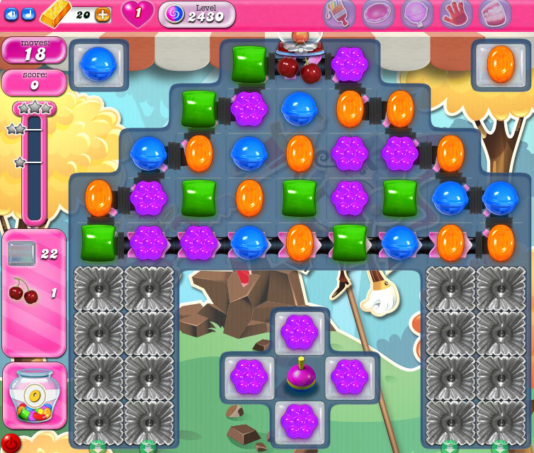 Candy Crush Saga level 2430