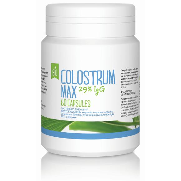 BioMax Πρωτόγαλα-Colostrum 29% IgG (60caps/400mg)