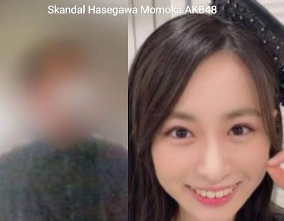 hasegawa momoka akb48 kasus skandal graduate