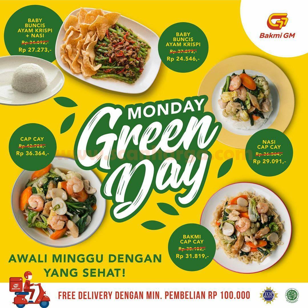 Promo Bakmi GM Harga Spesial Menu Paket Monday Green Day