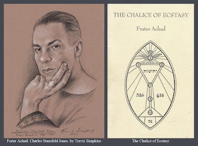 Frater Achad. Charles Stansfeld Jones. Occultist. Ordo Templi Orientis. The Chalice of Ecstasy. by Travis Simpkins