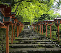 Kifune Shrine Staircase