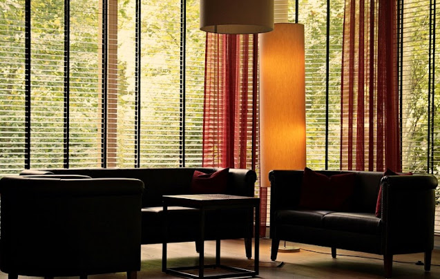 Install Large Shutters and Curtains