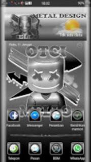 Tema OTCI Mello untuk Android Oppo