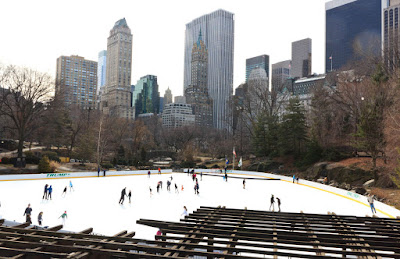Wollman Rink - la célèbre patinoire de Central Park à New York