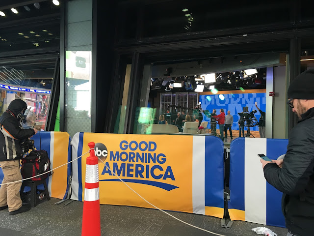 Good Morning America filming live