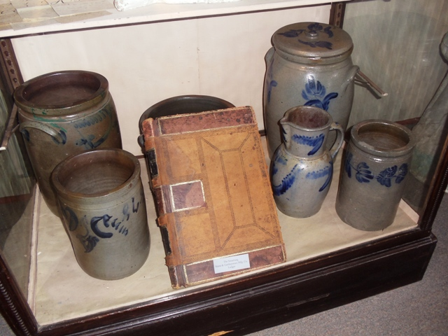Pottery exhibit at the Strasburg Museum