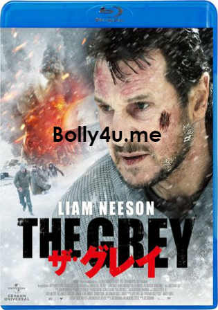 The Grey 2011 BRRip 900Mb Hindi Dual Audio 720p ESub Watch Online Full Movie Download bolly4u