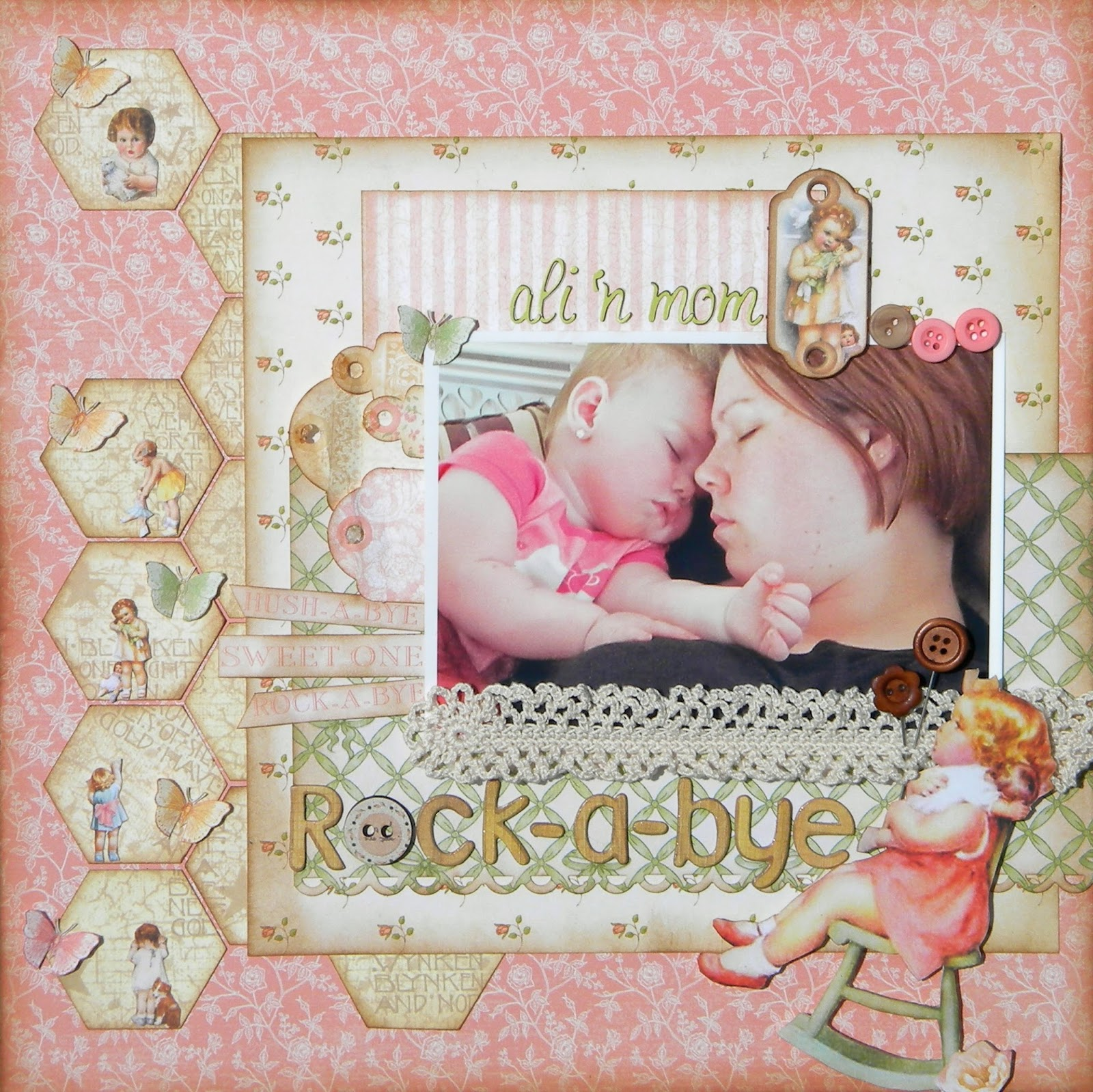 A Scrapbook Layout Mistake....What Would You Do?