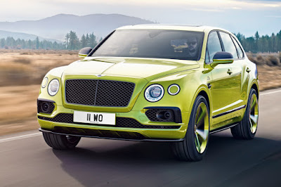 Bentley Bentayga Pikes Peak Limited Edition (2018) Front Side