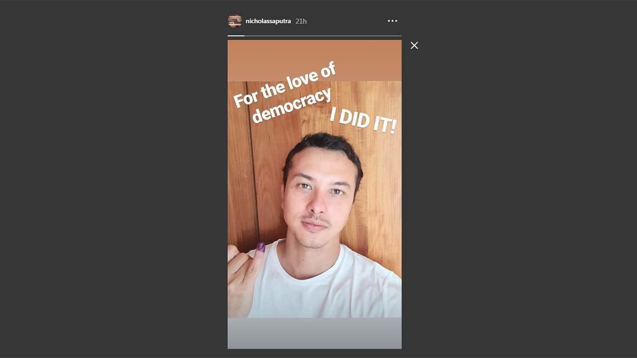 Nicholas Saputra Tepati Janji Untuk Unggah Foto Selfie Di Instagramnya