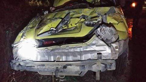 حادث سير مروِّع على طريق السويداء-عتيل يودي بحياة مواطن (صور)