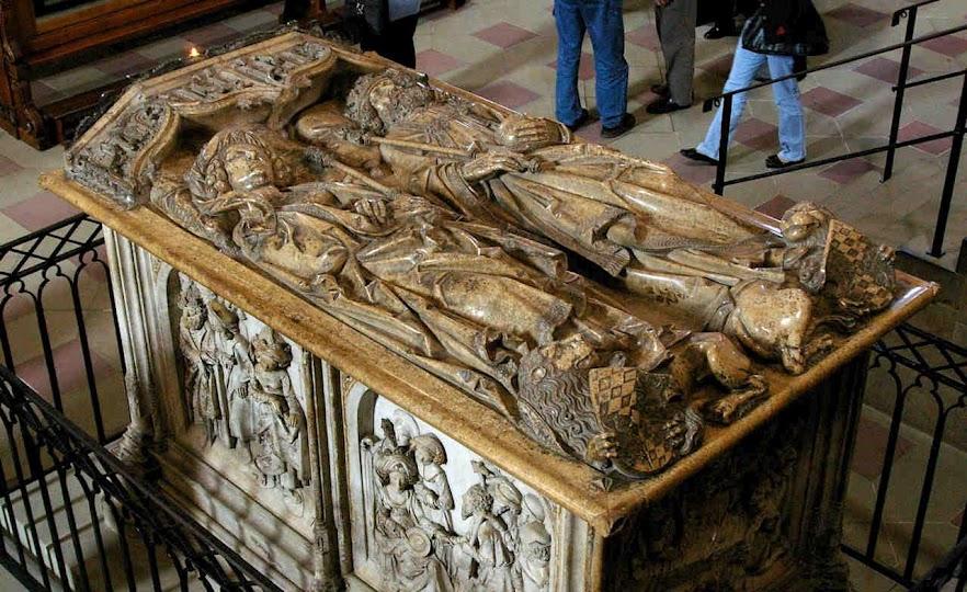 Túmulo do santo casal na catedral de Bamberg