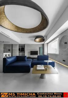 platre rabat decoration faux plafond pour chambre