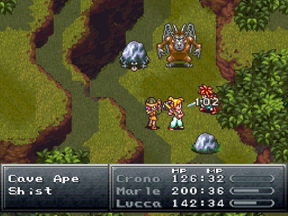 chrono trigger gameplay