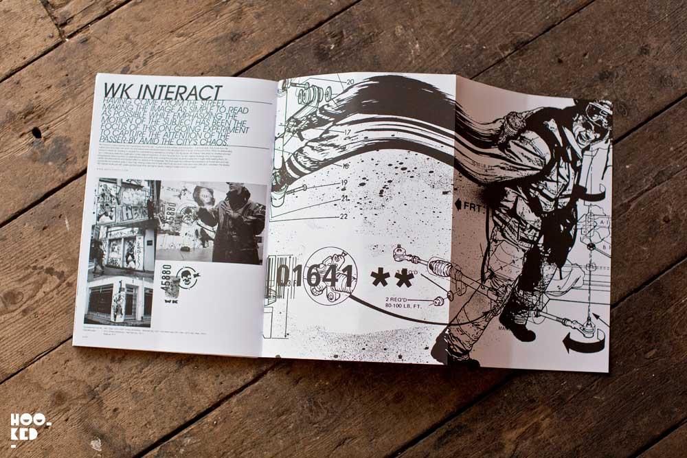 A street art book featuring paste up street artists titled It's a Stick-Up.