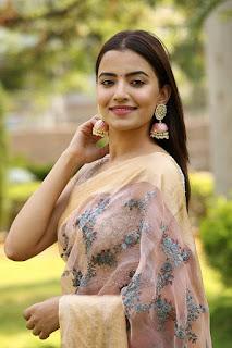 Rukshar Dhillon Photos In Pink Saree