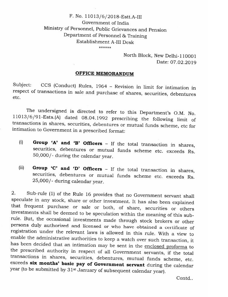 Ccs Conduct Rules 1964 Pdf