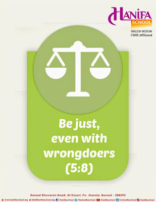 Be just even with wrongdoers (Quran 5-8) by Ummat-e-Nabi.com