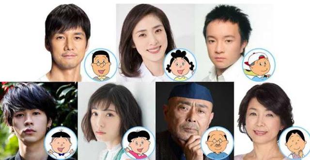 Live-Action Sazae-san TV Sequel Special Mengungkapkan Pemeran