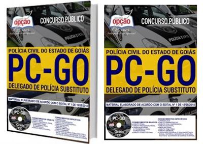 Apostila Concurso Delegado de Polícia Civil de Goiás 2018
