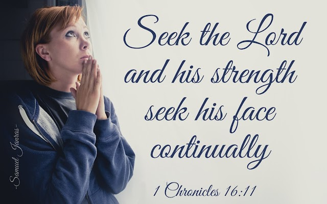 Seek the Lord - Bible Quotes