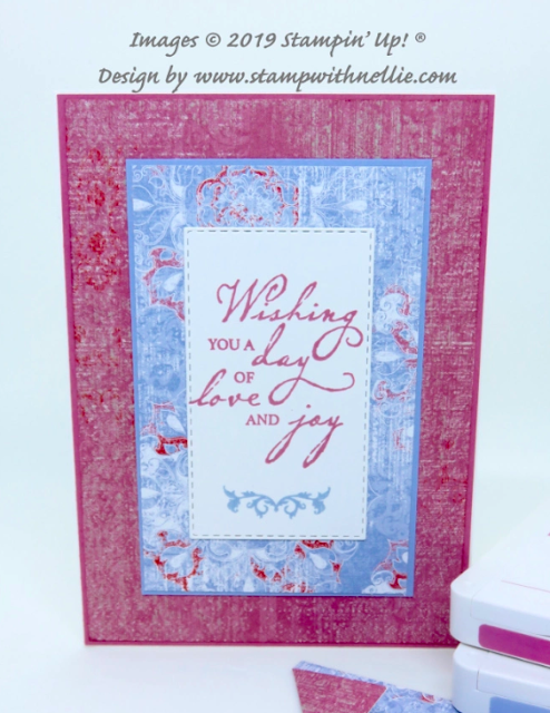Nigezza Creates With Nellies Hobbies Stampin Up woven heirlooms