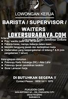 Info Loker Surabaya di Fukudon Cafe Oktober 2020