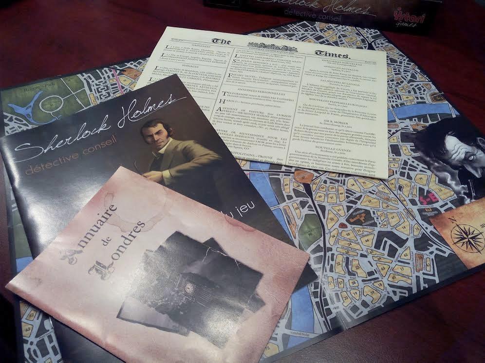 Sherlock Holmes, détective conseil jeu de société enquête