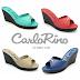 Carlo Rino 333000-108D-25 Peep Toe Wedges Platform