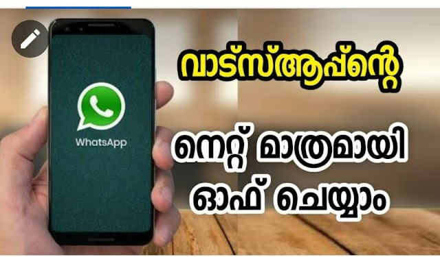 Download Android App to turn off Whatsapp