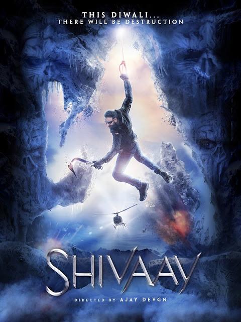 Shivaay, Shivaay Poster , Shivaay Ajay Devgan, Shivaay Ajay Devgan movie