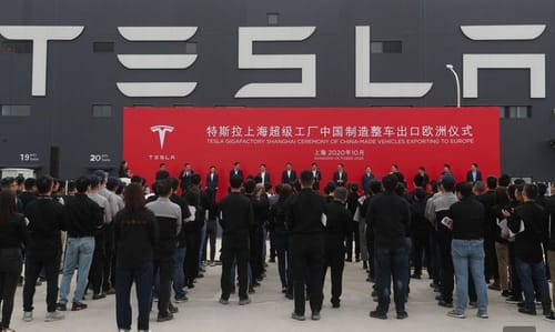 Elon Musk is trying to bring China back