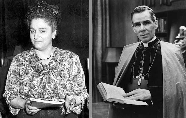 Bella Dodd a agente se converteu e por influência de Mons. Fulton Sheen desvendou a rede comunista para fazer explodir a Igreja na qual trabalhou