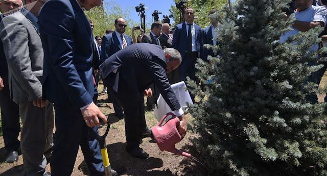Bielorrusia apoyará a Armenia con su plan de reforestación