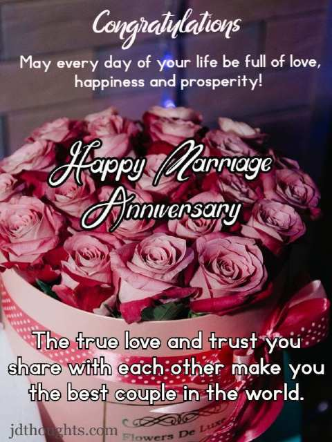Simple anniversary wishes for couple