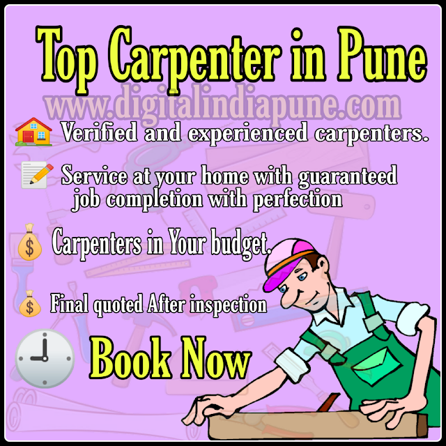Find professional and Reliable Carpenter Services in Pune & PCMC Areas - Pimple Saudagar,Sangvi,Navi Sangvi, Aundh,Baner,wakad, Pimpri Chinchwad.