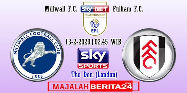 Prediksi Millwall vs Fulham