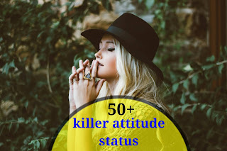 killer attitude status,killer attitude status in hindi