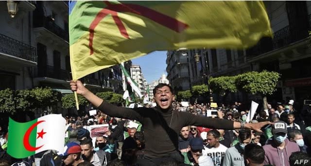 مظاهرات امازيغ الجزائر الحراك الشعبي