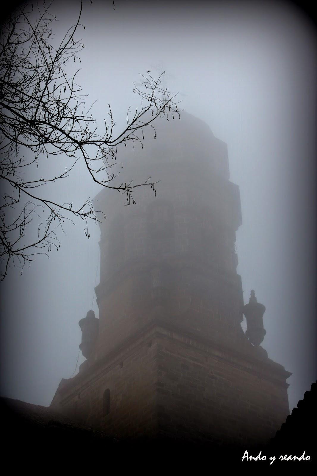 Torre campanario de la Catedral de Baeza, Imágenes de Baeza con niebla