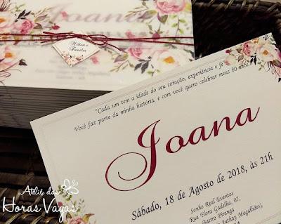 convite de aniversário artesanal personalizado 80 anos floral delicado rosê marsala sofisticado luxo especial 15 anos casamento