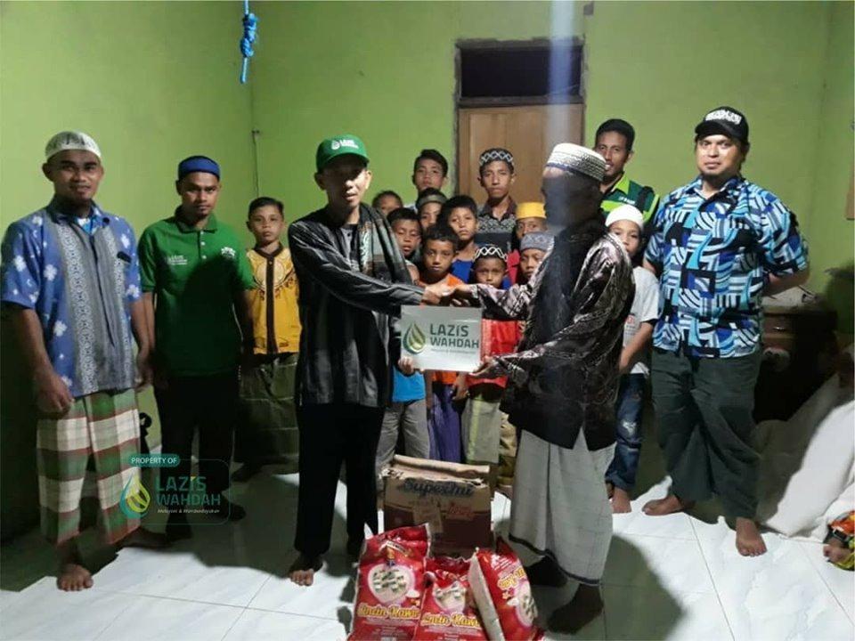 Relawan LAZIS Wahdah Malut Distribusikan 500 Paket Bantuan untuk Korban Gempa