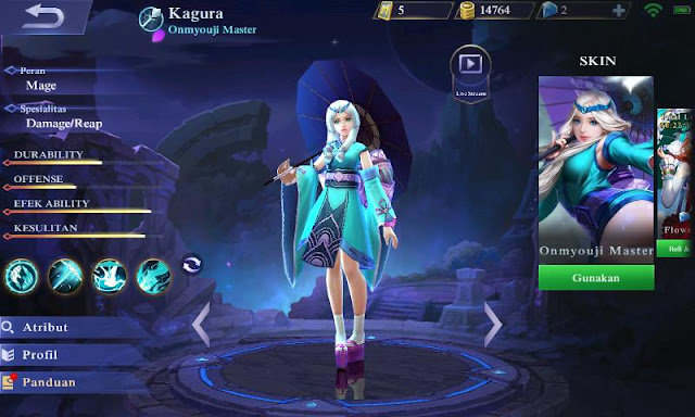 build item kagura mobile legends