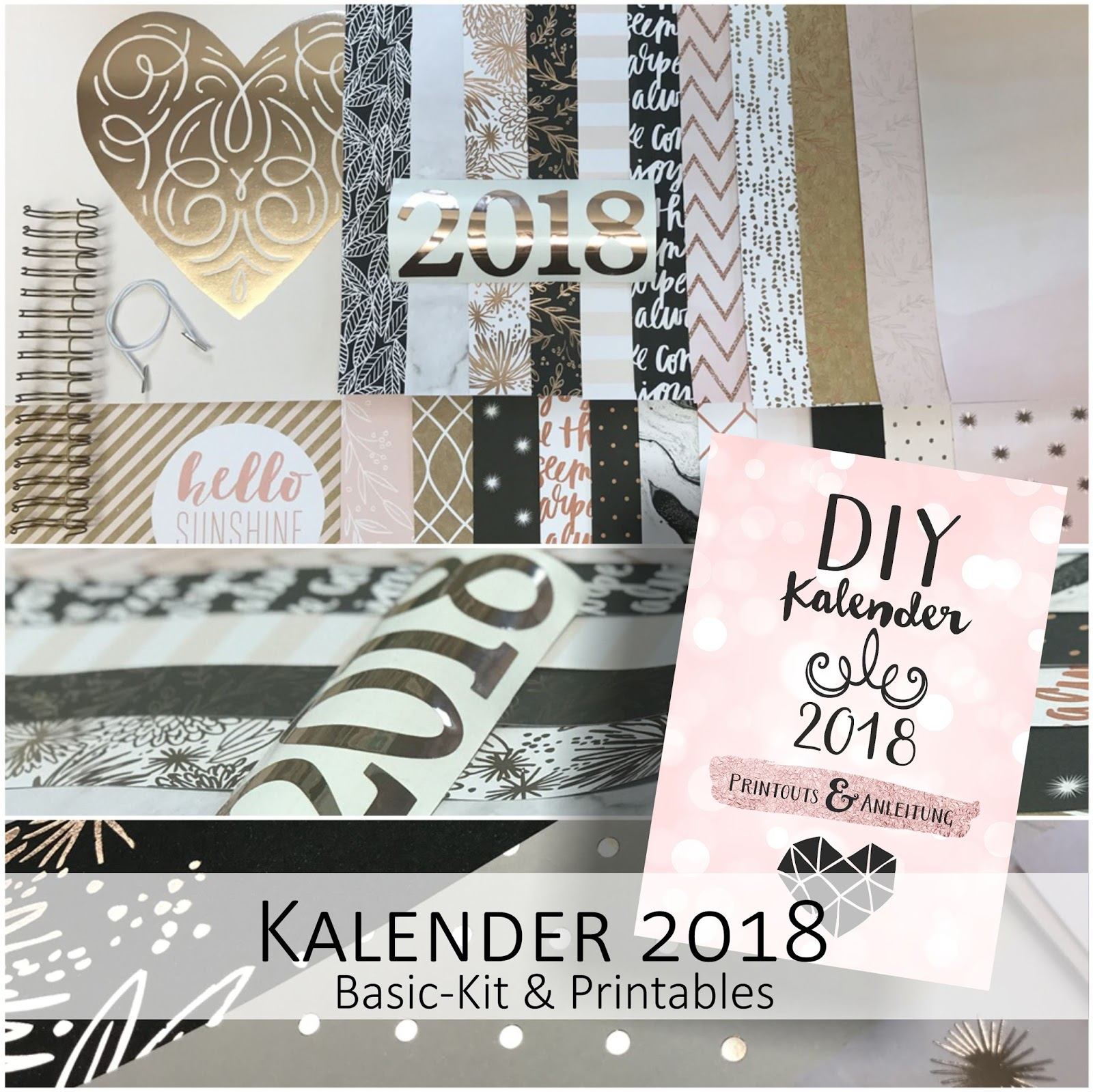 DIY Kalender Kit & Versand vor Weihnachten | made-by-imme.de